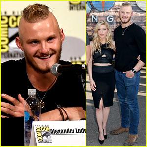 Alexander Ludwig Debuts 'Vikings' Season 4 Trailer at Comic-Con!