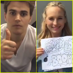 Watch Paul Wesley, Candice Accola, & More WBTV Stars Describe Comic-Con in 3 Words (Video)