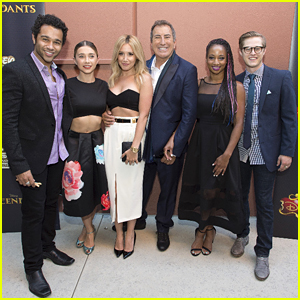 Ashley Tisdale & Monique Coleman Support Kenny Ortega At 'Descendants' Premiere