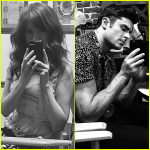 Zac Efron & Anna Kendrick Snap Stealthy Pics Of Each Other On 'Mike & Dave' Set