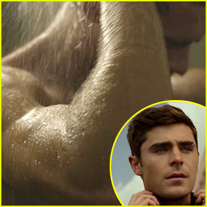 Zac Efron Has a Shower Scene in New Movie Trailer!
