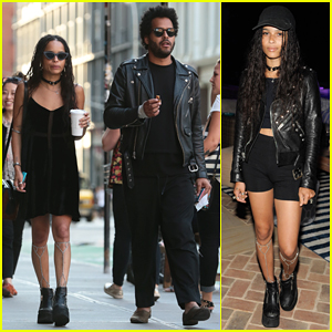 Zoe Kravitz Dating 'No Ordinary Love' Collaborator Twin Shadow?