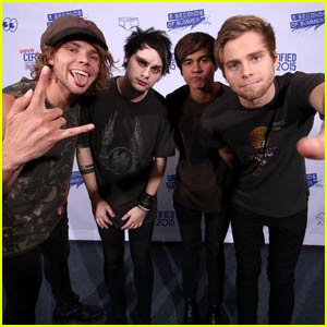 5 Seconds of Summer Rock the 'Vevo Certified Live' Stage!