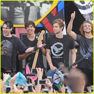 5 Seconds of Summer Perform Epic Concert On Good Morning America - Watch Their Performances Now!