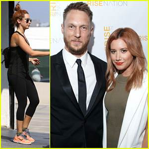 Ashley Tisdale Hits Up Rise Nation's Grand Opening Event