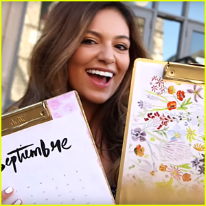 Bethany Mota Makes Her Own School Supplies In New Vid - Watch Here!