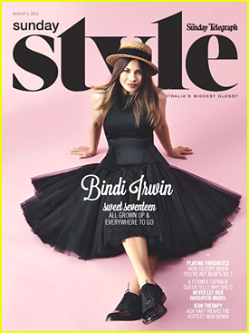 Bindi Irwin Dishes On Relationship With Chandler Powell in 'Sunday Style'