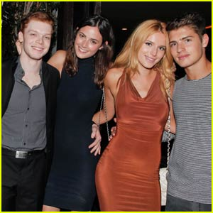 Cameron Monaghan Parties With Bella Thorne & Gregg Sulkin for His 22nd Birthday!