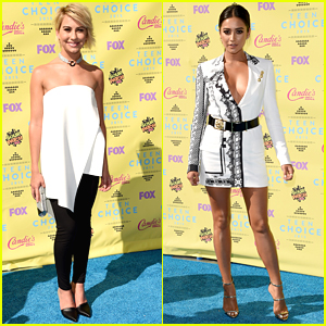 Chelsea Kane & Shay Mitchell Step Out In Style For Teen Choice Awards 2015