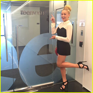 Chloe Lukasiak Takes NYC By Storm!