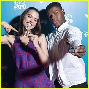 Star Wars' John Boyega & Daisy Ridley Announce Star Wars Playstation Bundles at D23