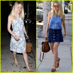 Dakota Fanning Enjoys a Girls' Night Out With Friends in L.A.