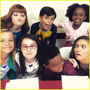 Daniela Nieves & WITS Academy Cast Make Funny Faces During First Table Read