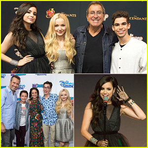 Dove Cameron & Sofia Carson Perform Songs From 'Descendants' At D23 - See The Pics!