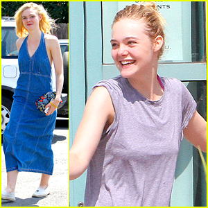 Elle Fanning Was 'Very Nervous' For 'About Ray' Role
