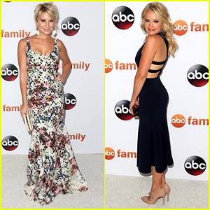 Emily Osment & Chelsea Kane Go Glamorous For ABC's TCA Tour Party