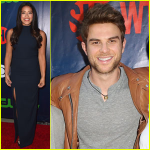 Gina Rodriguez & Nathanie Buzolic Step Out for CBS' TCA Bash 2015!