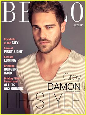 Grey Damon Says Claire Holt Is His 'Set Bestie' On 'Aquarius' Set