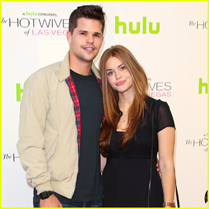 Holland Roden & Max Carver Hit Up 'Hotwives Of Las Vegas' Screening
