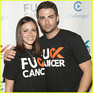 Italia Ricci & Jonathan Bennett Step Out For FCancer Benefit