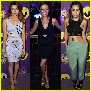 Italia Ricci & Katie Stevens Go Glam for Just Jared's Wonderland Party with Ever After High!