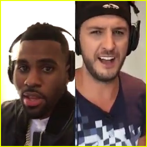 Jason Derulo Sings 'Want to Want Me' with Luke Bryan - Watch Now!