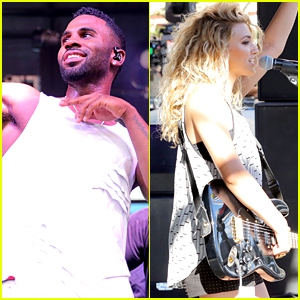 Jason Derulo and Tori Kelly Perform In The Heat At Pandora's Summer Crush Concert