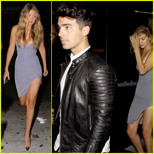Joe Jonas & Gigi Hadid Couple Up for Kylie Jenner's Birthday Bash