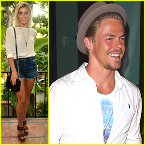 Derek Hough Had 'Kind Of An Idea' Of Julianne & Brooks Laich's Engagement