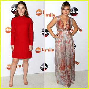 Kaitlyn Dever & Amanda Fuller Bring 'Last Man Standing' To ABC's TCA Tour Party