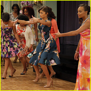 K.C. Turns Into A Debutante For Tonight's 'K.C. Undercover'