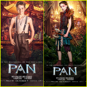 Levi Miller & Rooney Mara Star In New Character Posters For 'Pan'