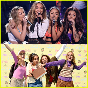Little Mix Gets Nerdy for 'Black Magic' Performance at Teen Choice 2015 - Watch Now!