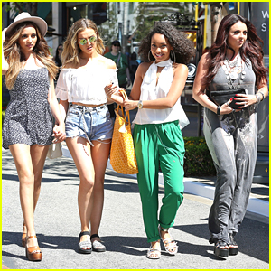 Little Mix Have Fun & 'Get Weird' With Paparazzi In Los Angeles