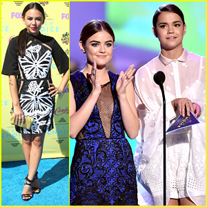 Lucy Hale & 'Pretty Little Liars' Win Big At Teen Choice Awards 2015