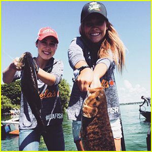Maddie & Tae Win First Place At Boots & Hearts Festival Fishing Competition!