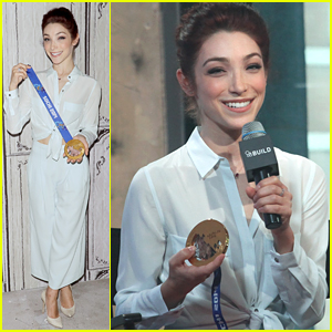 Meryl Davis Almost Forgot Her Olympic Medal For NYC Trip