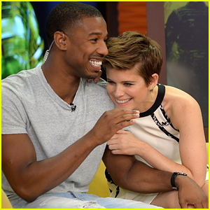 Kate Mara Can't Stop Laughing At Michael B. Jordan On 'Despierta America'