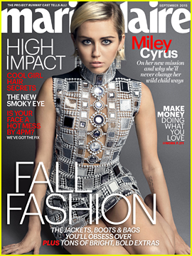 Miley Cyrus Talks Not Being A 'Conventional Role Model' in 'Marie Clarie'