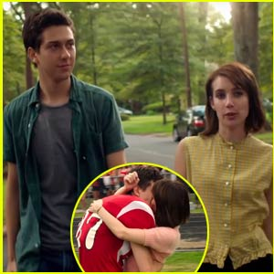 Nat Wolff Becomes Popular & Kisses Emma Roberts in First 'Ashby' Trailer - Watch Now!