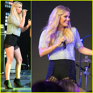Olivia Holt Performs & Zendaya Judges Cosplay Contest At D23 Expo - See The Pics!