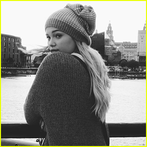 Olivia Holt Found Her Home - A Mermaid House - In Liverpool!