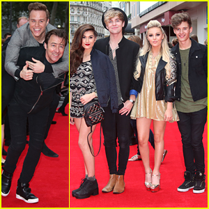 Olly Murs & Only The Young Support Jeremy Irvine At 'The Bad Education Movie' Premiere