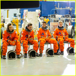 One Direction Get Ready for Space In 'Drag Me Down' Video - Go Behind the Scenes!