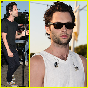 Penn Badgley Hits The Surf Lodge with His Band Mothxr!