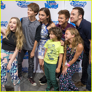 Rowan Blanchard Gets Taken Away From Her Fans During D23 'Girl Meets World' Meet & Greet