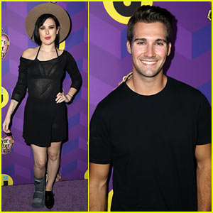 Rumer Willis & James Maslow Rep 'DWTS' at Just Jared's 'Way Too Wonderland' Party!