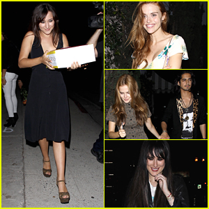Holland Roden, Zoey Deutch & Rumer Willis Celebrate Zelda Williams Birthday