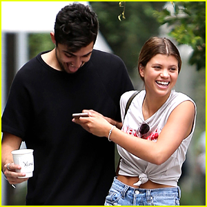 Sofia Richie Breaks Out Into Laughter After Breakfast With Friends