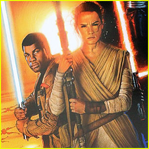 'Star Wars: The Force Awakens' Teaser Artwork Debuts At D23 - See It Here!